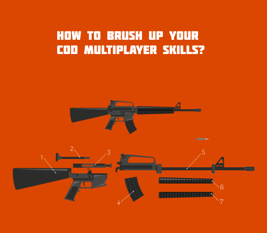 CoD multiplayer skills