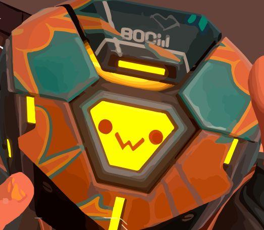 Boom Bot in Valorant