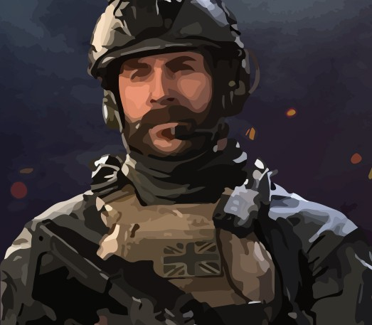 New hero Captain Price