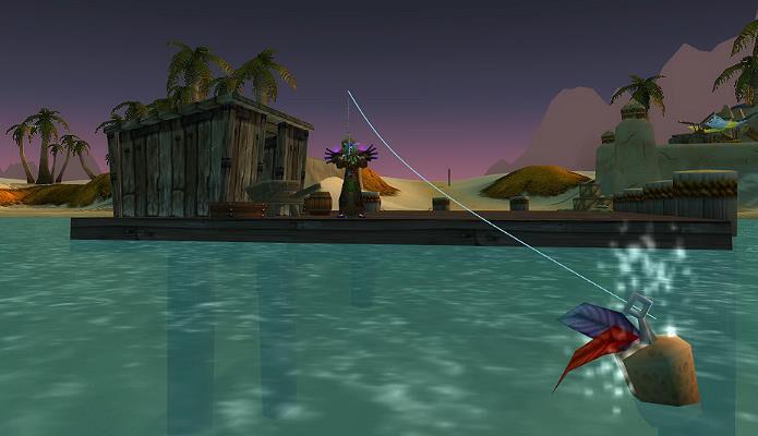 wow fishing