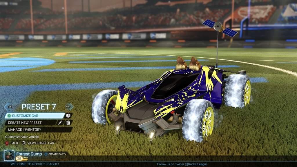 Rocket league mantis