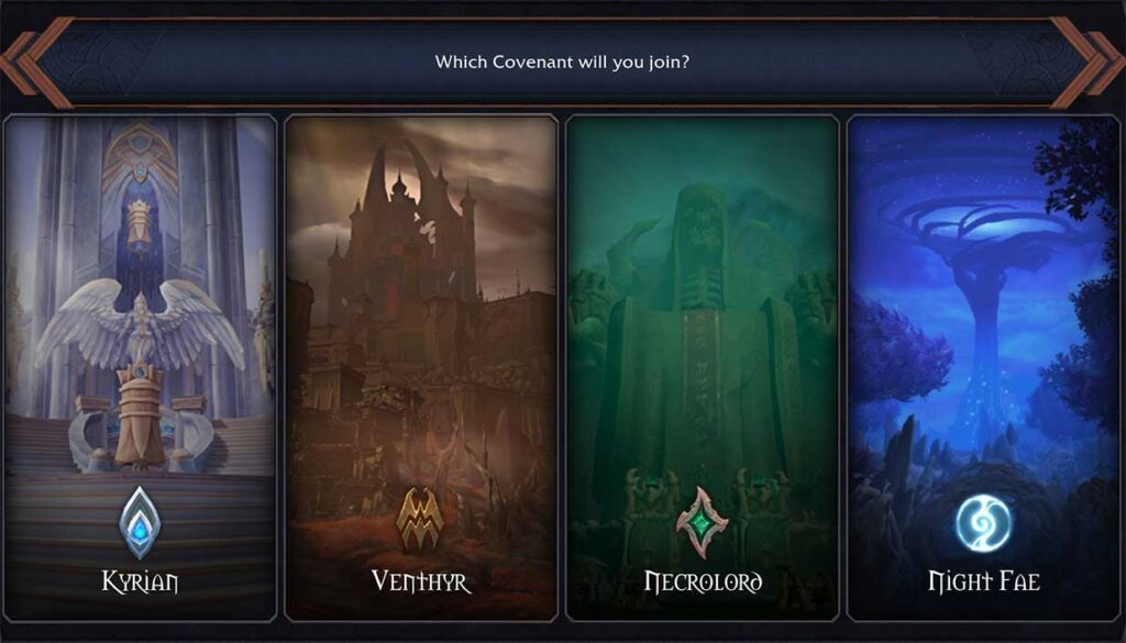 WOW SHADOWLANDS COVENANT OVERVIEW